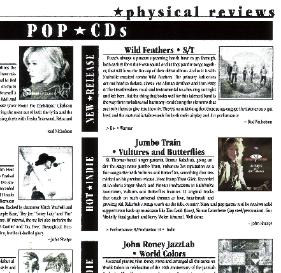 Scene Magazine Jumbo Train Review Vultures and Butterflies